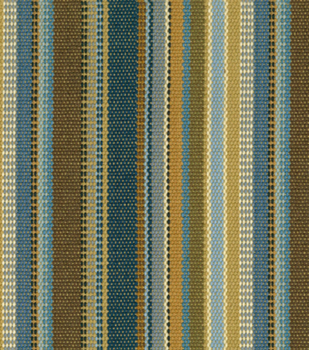 Home Decor 8\u0022x8\u0022 Fabric Swatch-Upholstery Fabric-Waverly Saddle Stripe/Denim