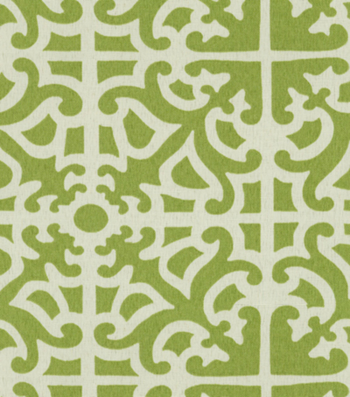 "Home Decor 8""x8"" Fabric Swatch-Waverly SNS Parterre/Grass"