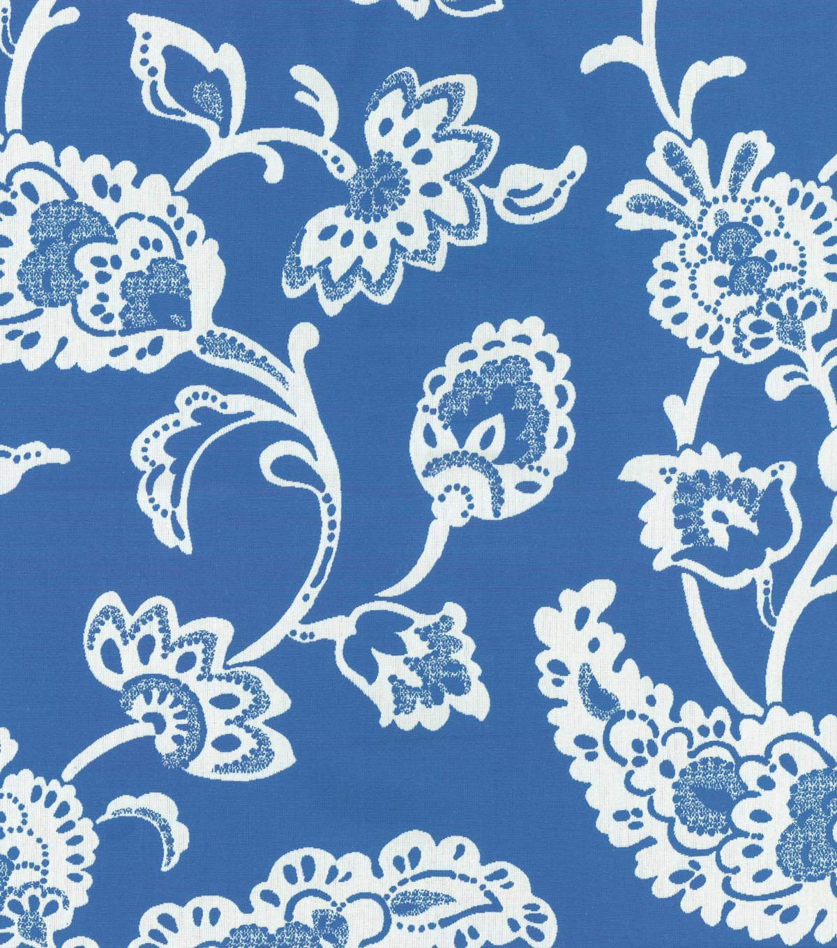 Home Dec 8\u0022x8\u0022 Swatch Fabric-Williamsburg Pelham Pomegranate Bluebell