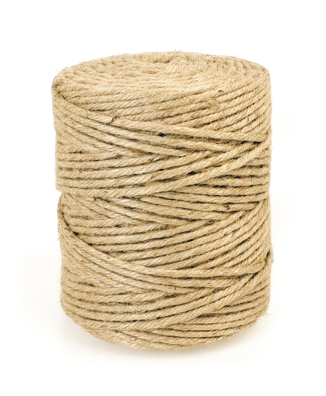 Five-Ply 100% Natural Jute, 6lbs. 72lb. Strength