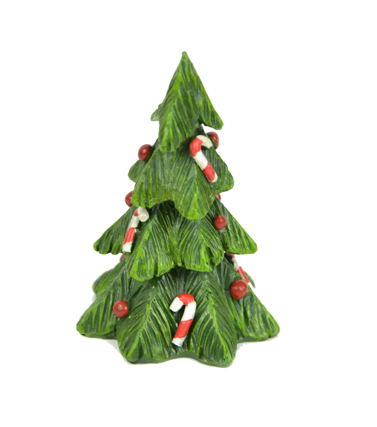 Maker's Holiday Littles Resin Tree with Candy Canes