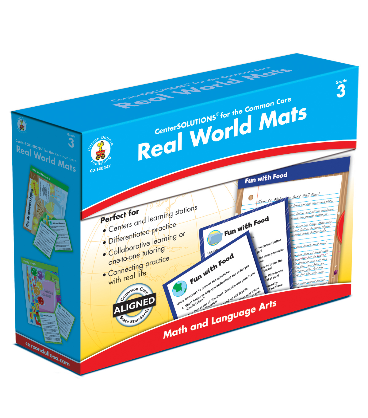 Real World Mat Classroom Kit- Grade 3