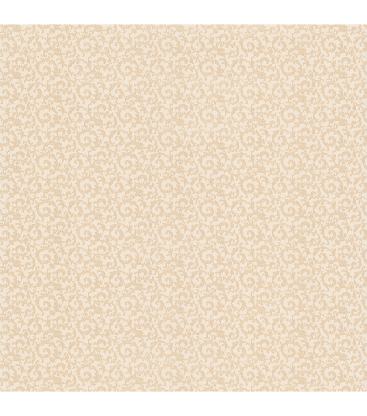 Wembley Champagne Scroll Texture Wallpaper Sample