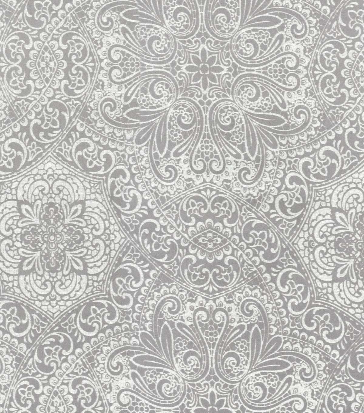 HGTV Home Print Fabric-Intricacy/Mineral