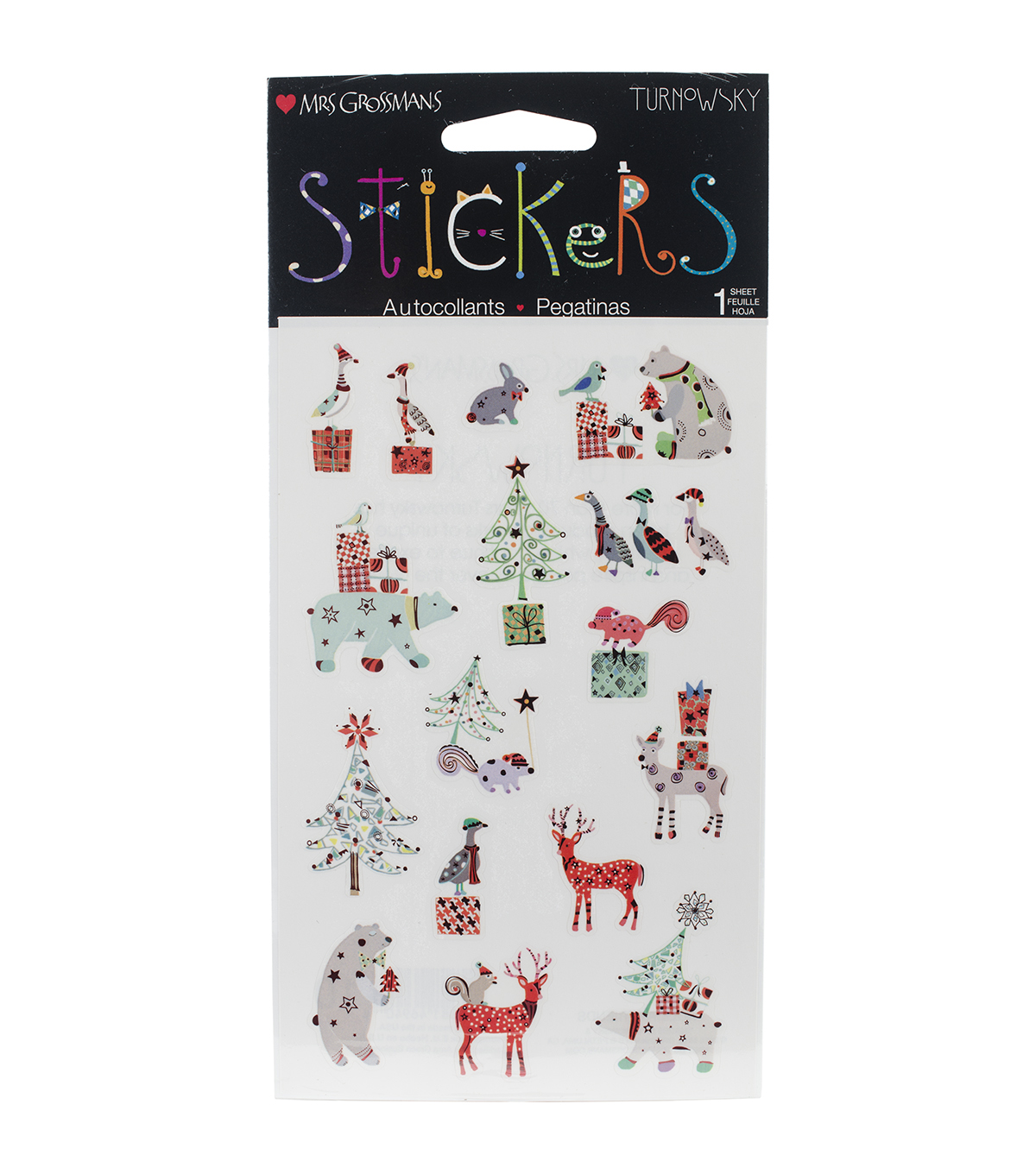 Mrs. Grossman's Stickers-Holiday Friends