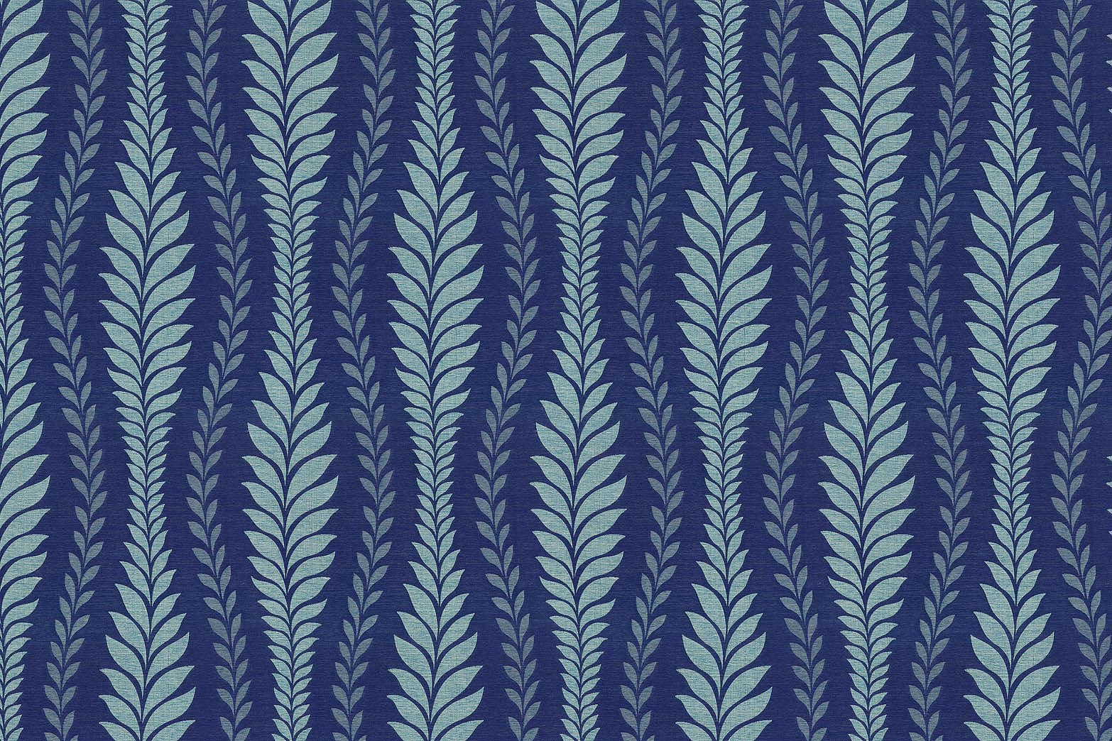 IMAN Home Sheer Fabric 56\u0022-Zahra Leaf/Luna