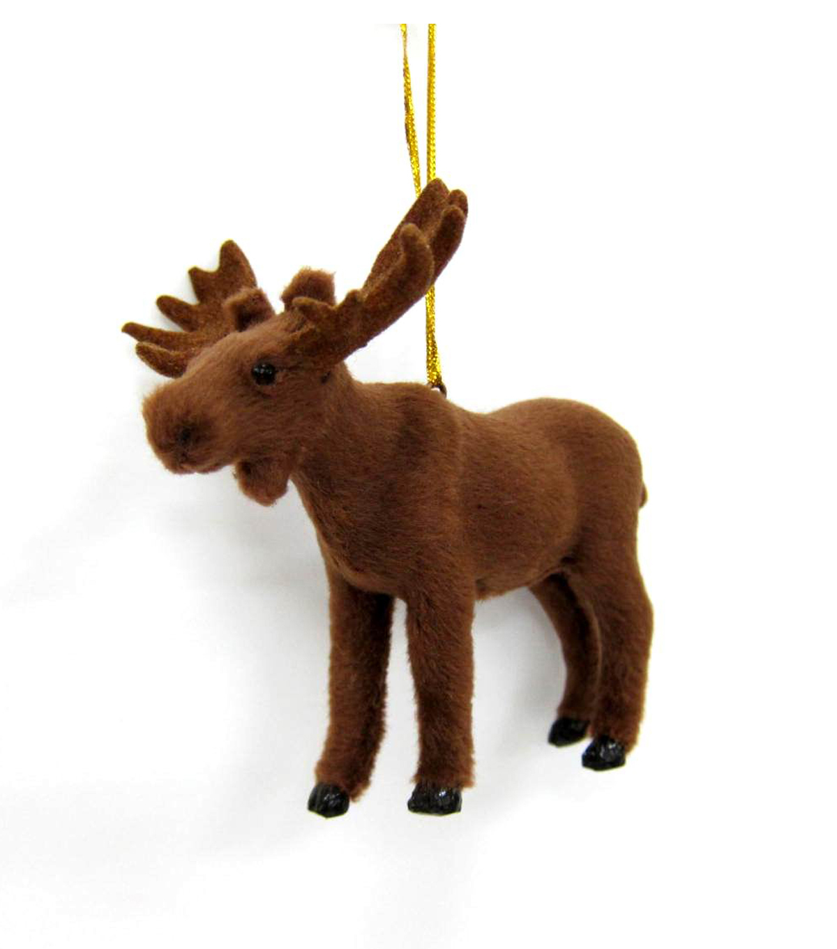Maker\u0027s Holiday Furry Moose Ornament