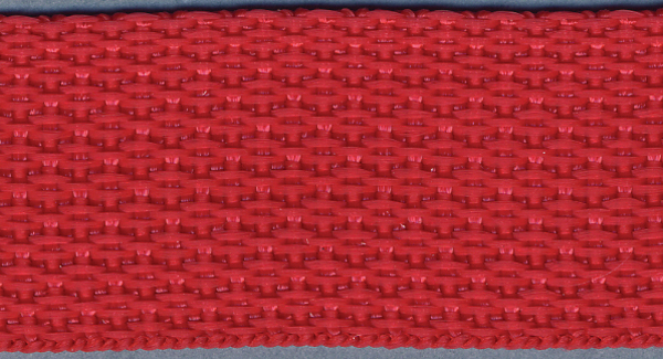 Polyester Webbing 1\u0022 Wide 15 Yards-Red