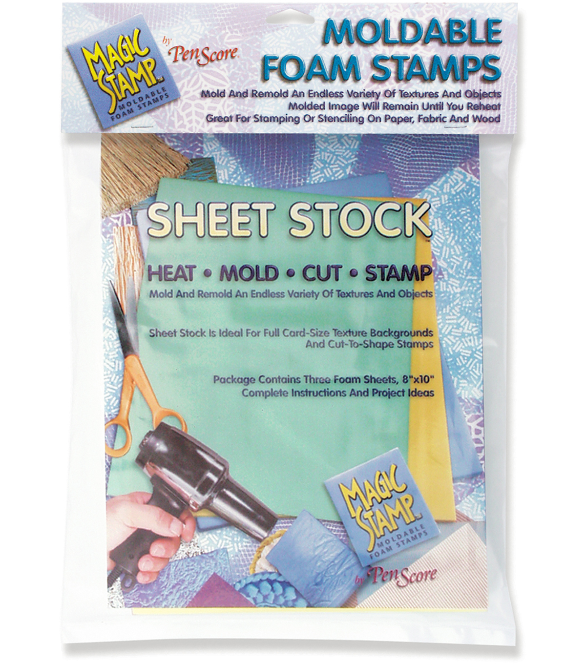 "Clearsnap 8""x10"" Magic Stamp Sheets-3PK"