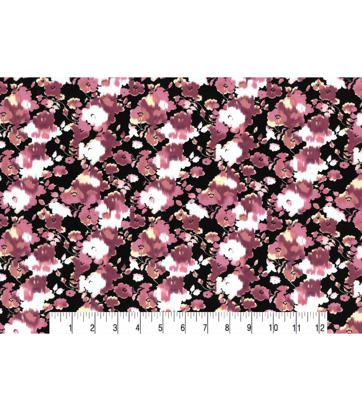 Two Daughters™ Modern Florals Cotton Fabric 43\u0022-Pink Washed Flowers