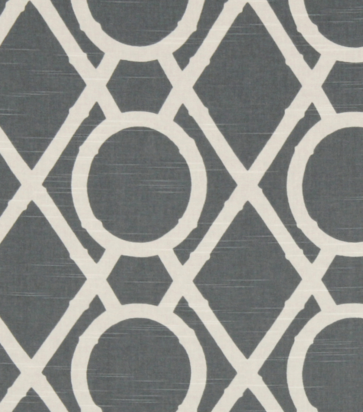 Home Decor 8\u0022x8\u0022 Fabric Swatch-Robert Allen Lattice Bamboo Greystone