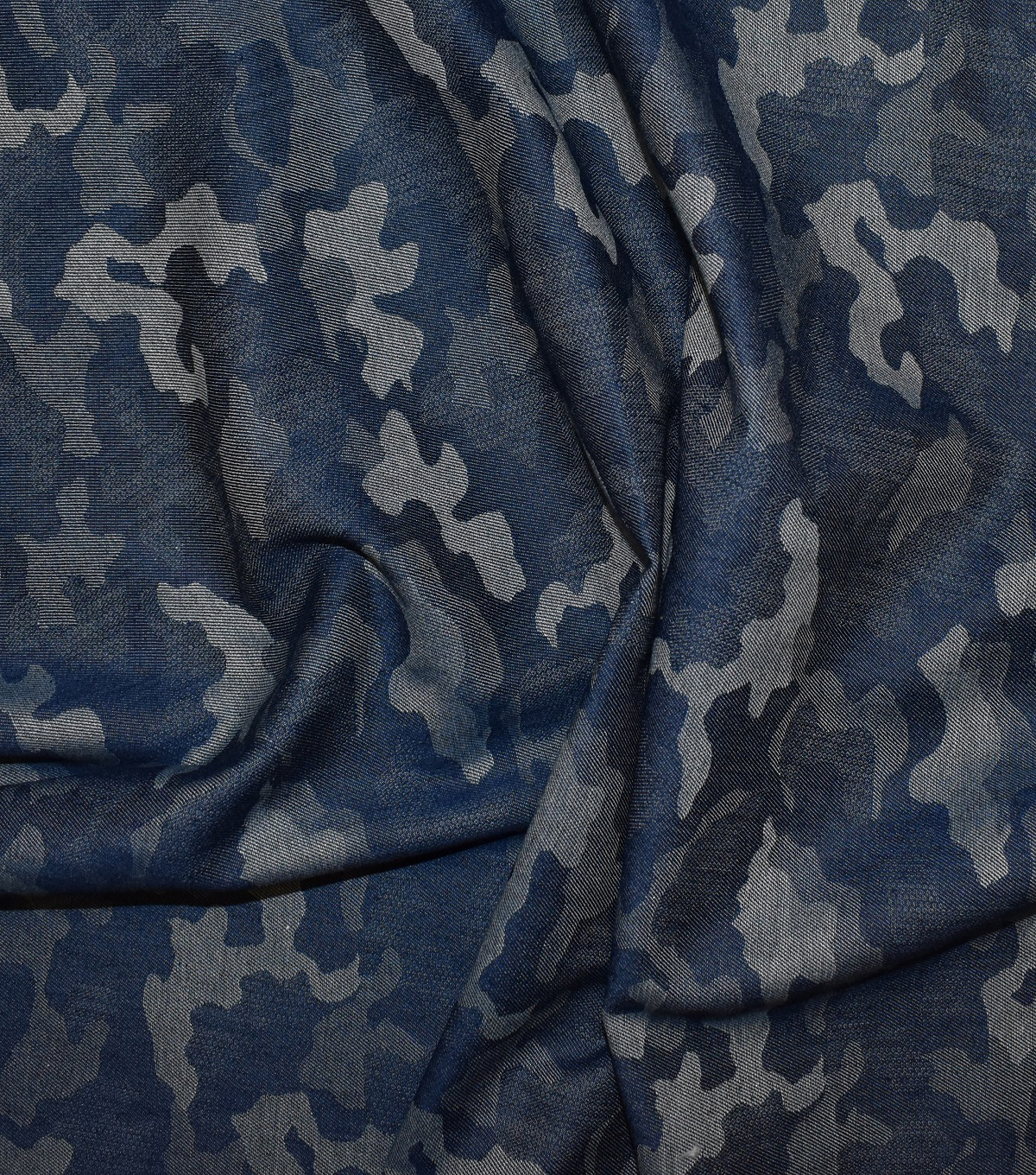 Jacquard Denim Fabric 57\u0022-Camo