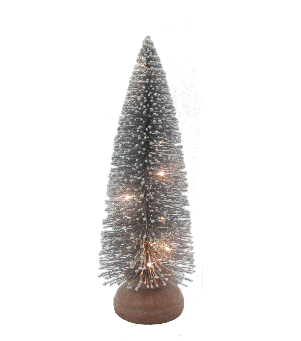 Maker\u0027s Holiday Christmas Medium LED Tree-Silver