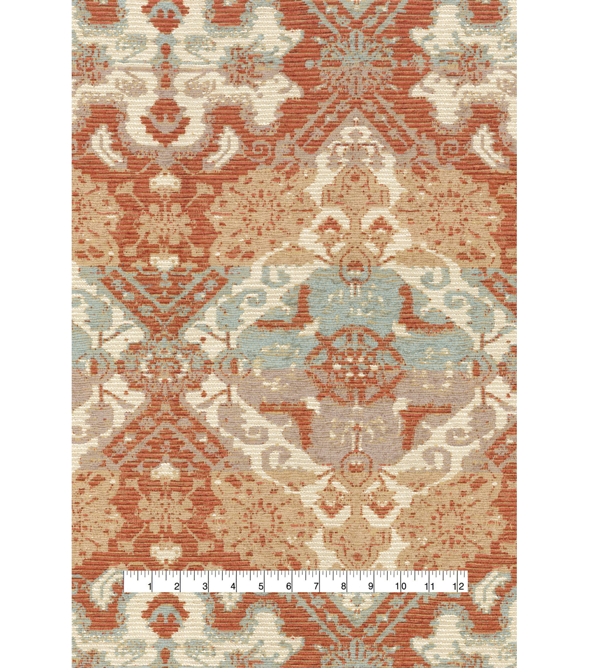 P/K Lifestyles Upholstery Fabric 56\u0022-Woven Narrative Sunset