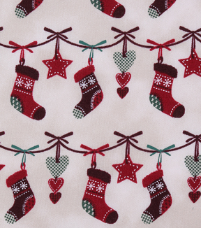 Christmas Cotton Fabric 43\u0022-Stitched Stocking