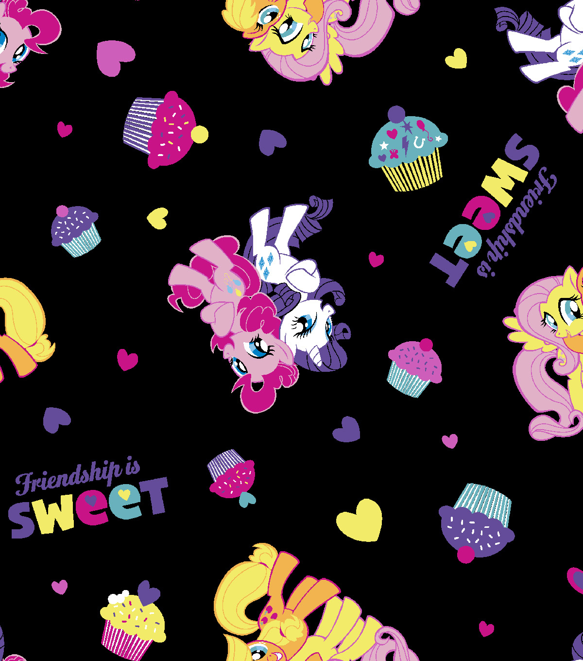 Hasbro® My Little Pony™ Cotton Fabric 43\u0022-Friendship is Sweet