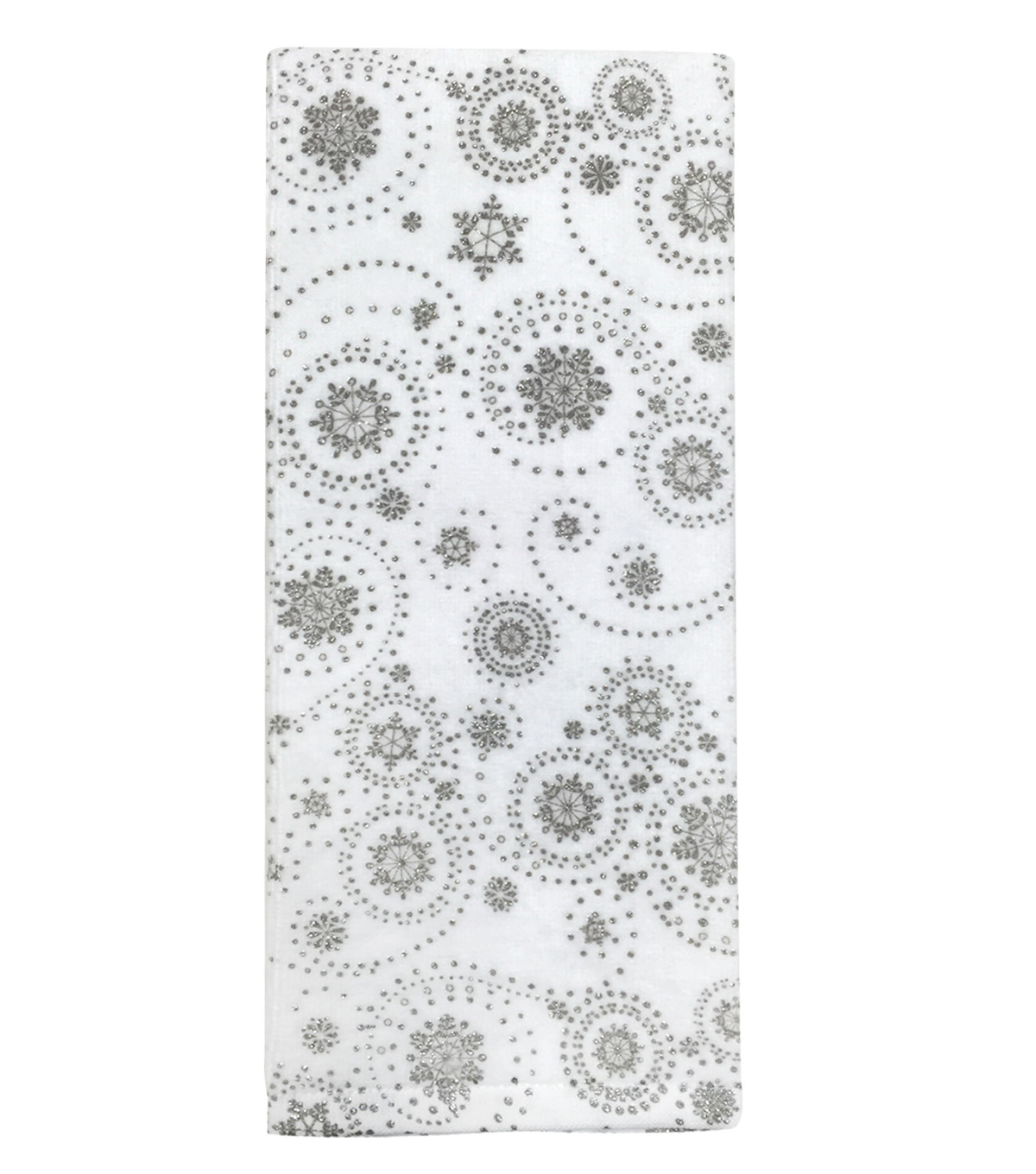 Maker\u0027s Holiday Terry Towel-Swirly Snowflakes