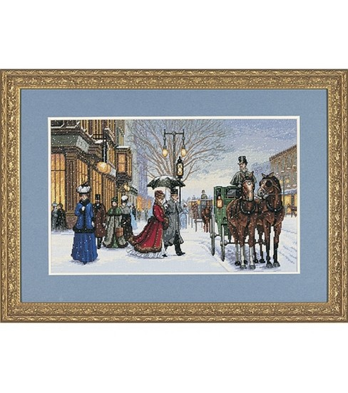Dimensions Counted Cross Stitch Kit-Gracious Era