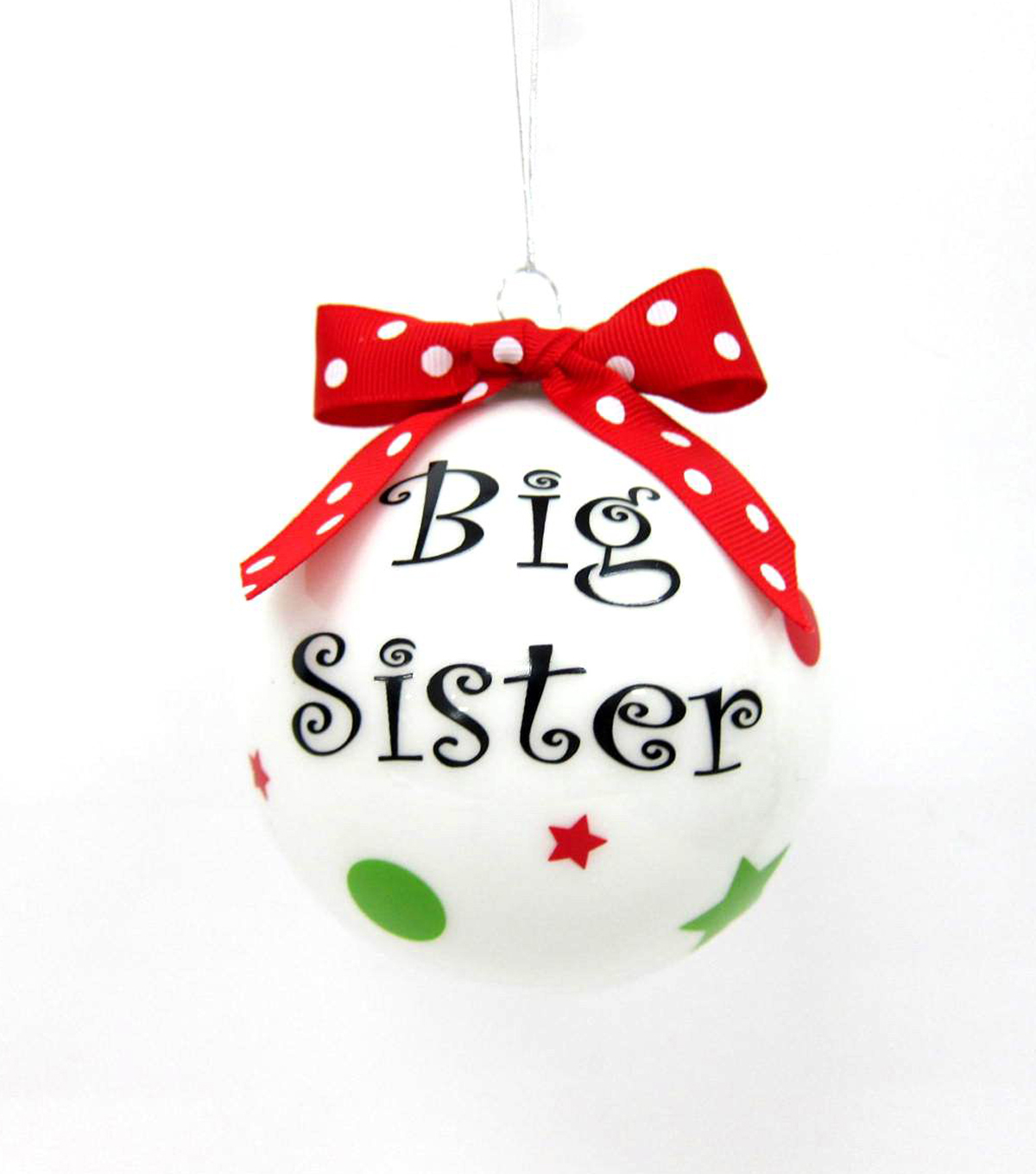 Maker\u0027s Holiday Big Sister Ornament