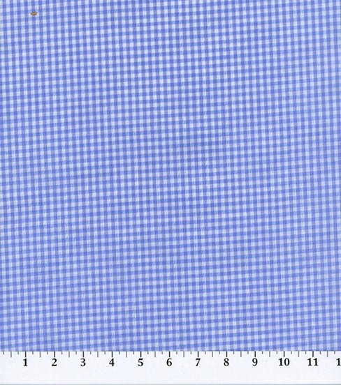 Homespun Cotton Fabric-Gingham Check