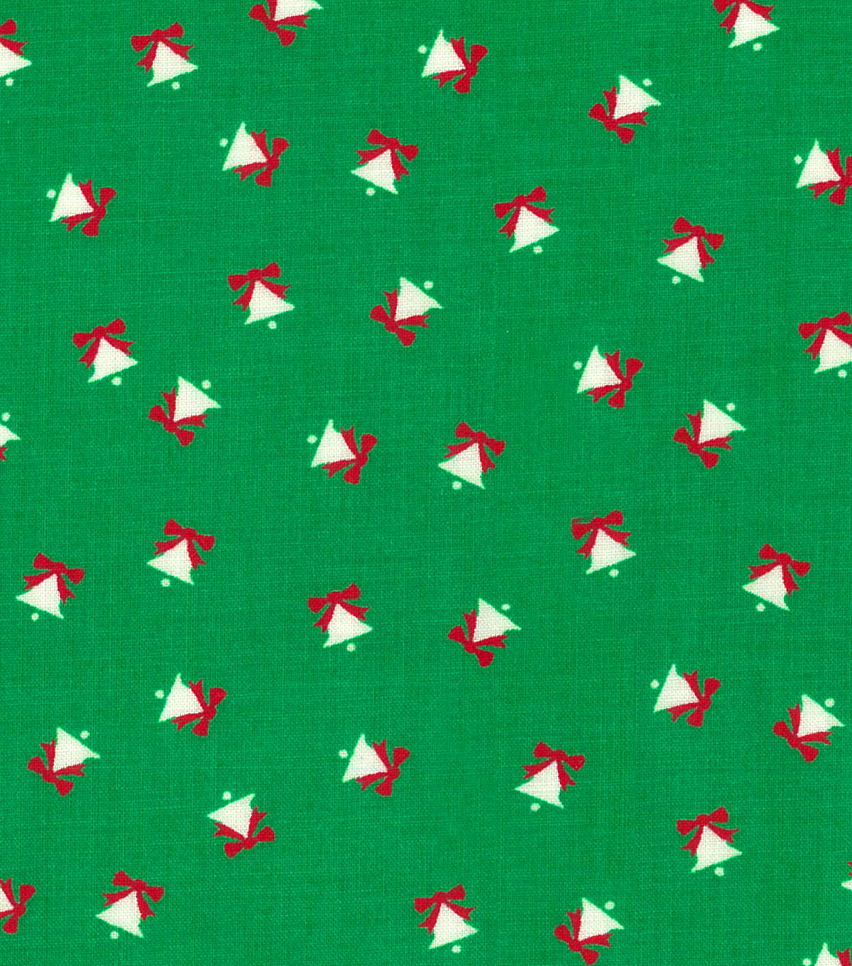 "Keepsake Calico Holiday Cotton Fabric 43""-Mini Bells"