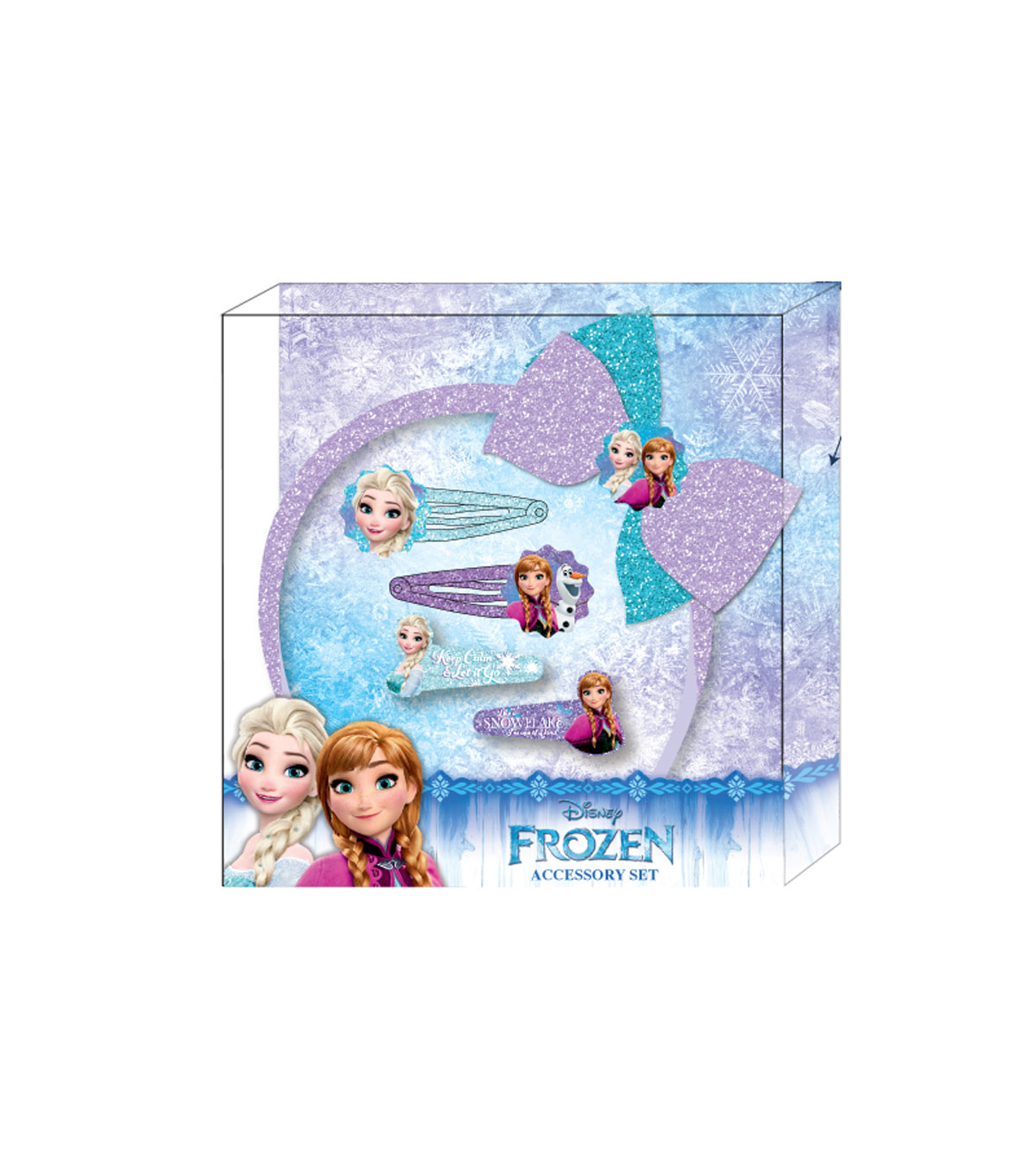 Disney® Frozen 5-Pieces Hair Accessory Set