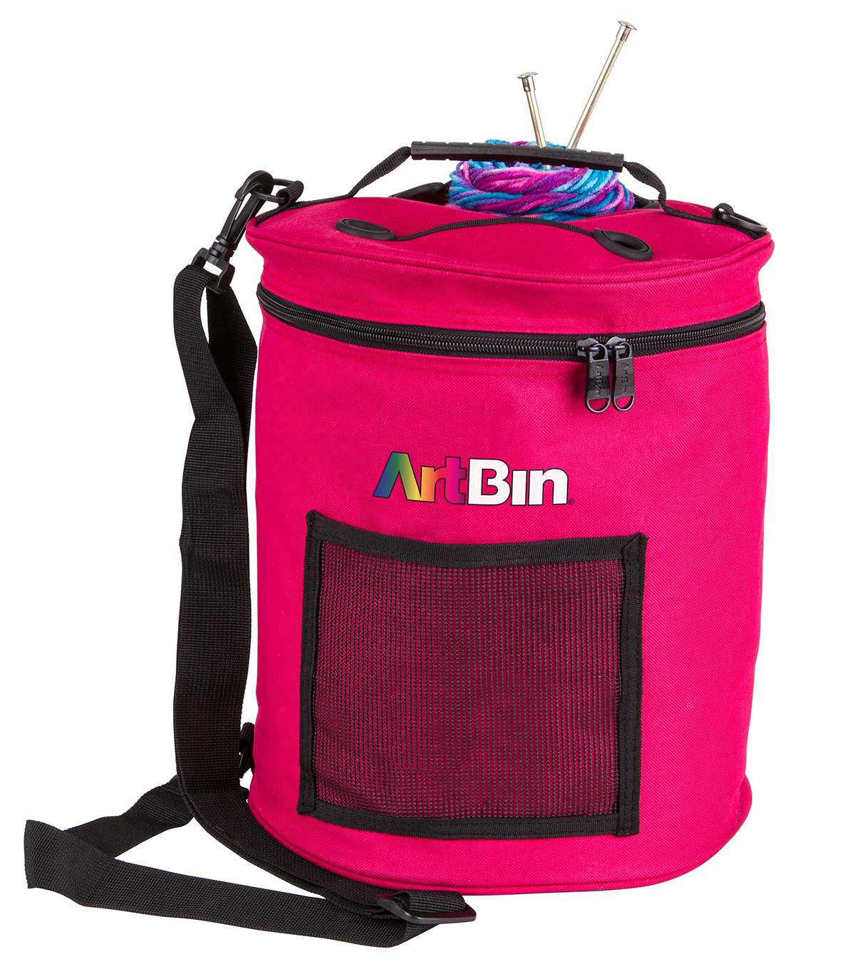 Yarn Drum Raspberry