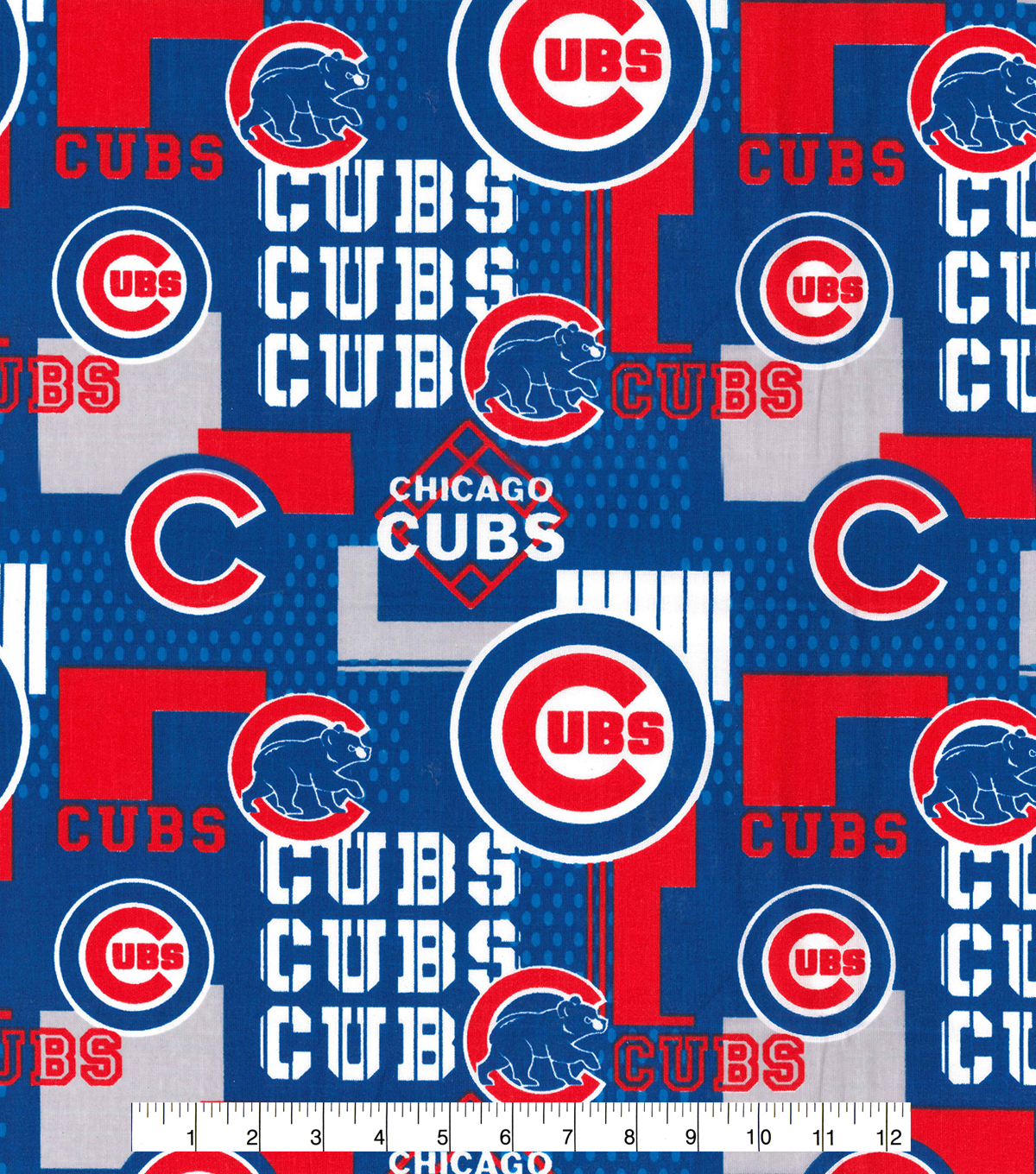 Chicago Cubs Cotton Fabric 58\u0022-Patch