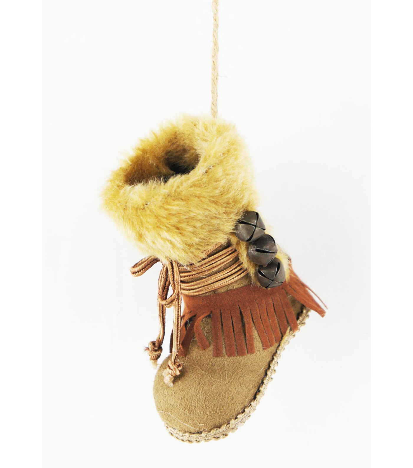 Maker's Holiday Christmas Woodland Lodge Eskimo Boot Ornament