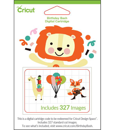 Cricut® Digital Cartridge-Birthday Bash