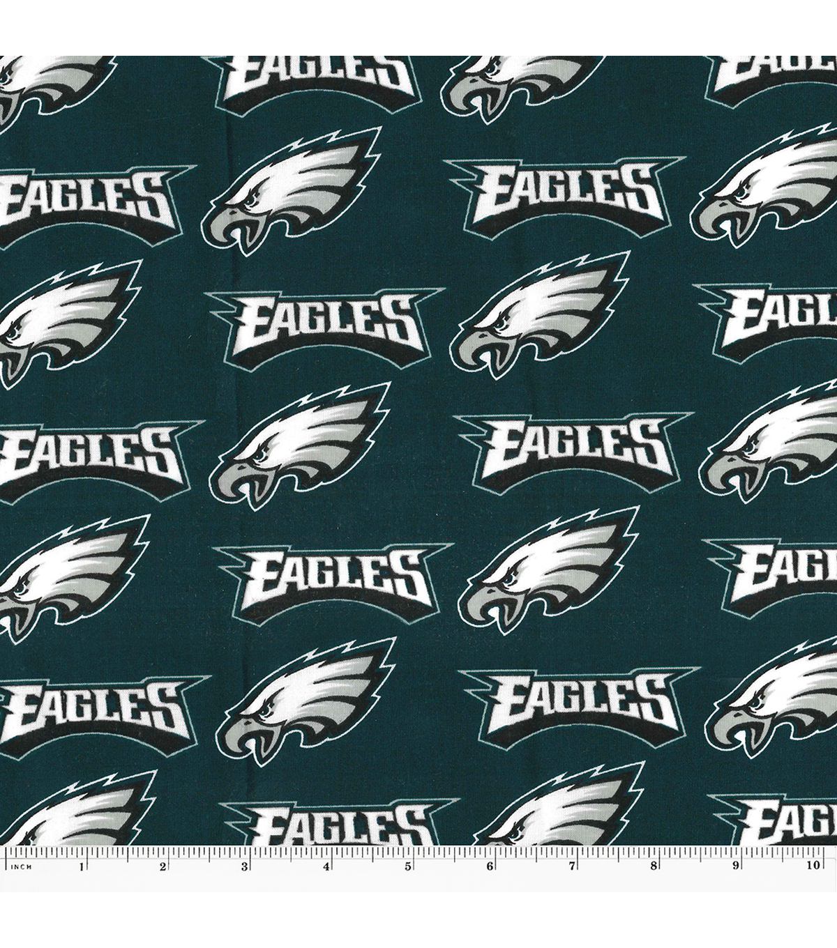 Philadelphia Eagles Cotton Fabric 58\u0027\u0027-Logo