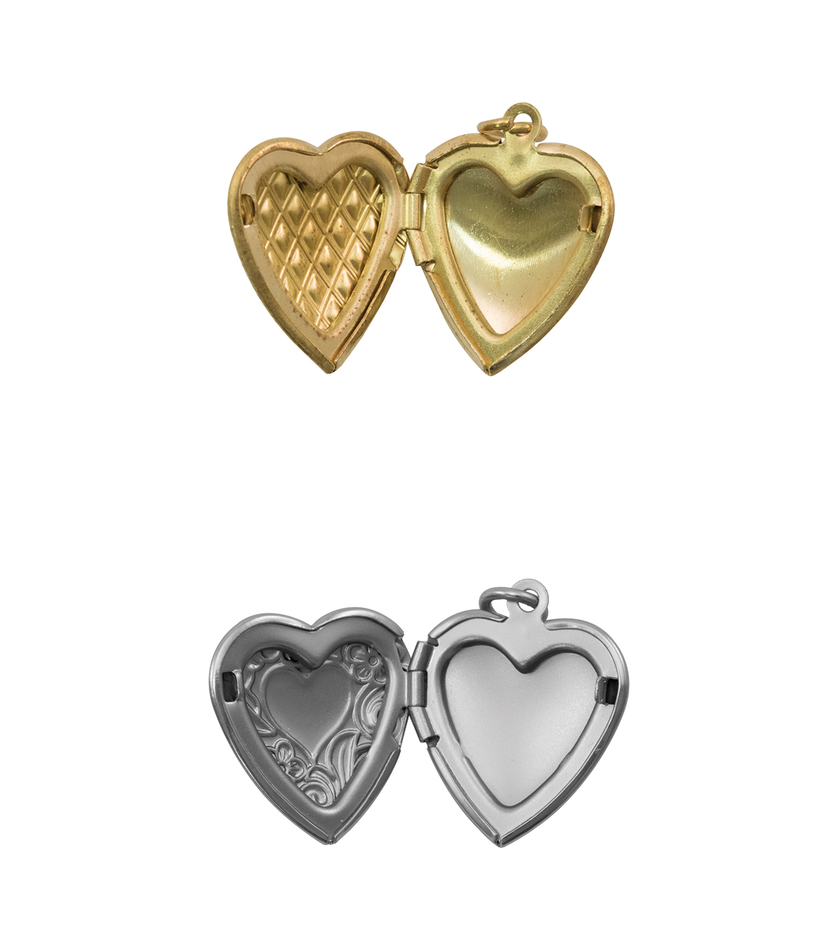 Tim Holtz® Assemblage Pack of 2 Hearts Lockets