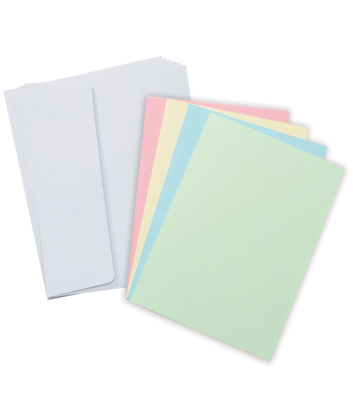 Core\u0027dinations Card/Envelopes:  A2  Pastel Assortment; 50 pack