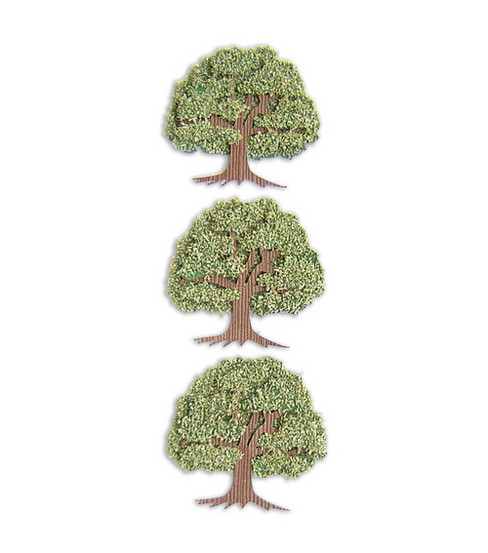 Jolee's By You Dimensional Embellishment-Trees