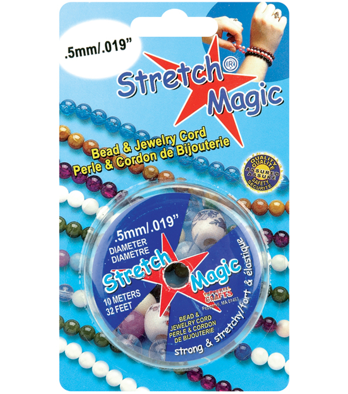 Stretch Magic .5mm Bead & Jewelry Cord-10 Meters