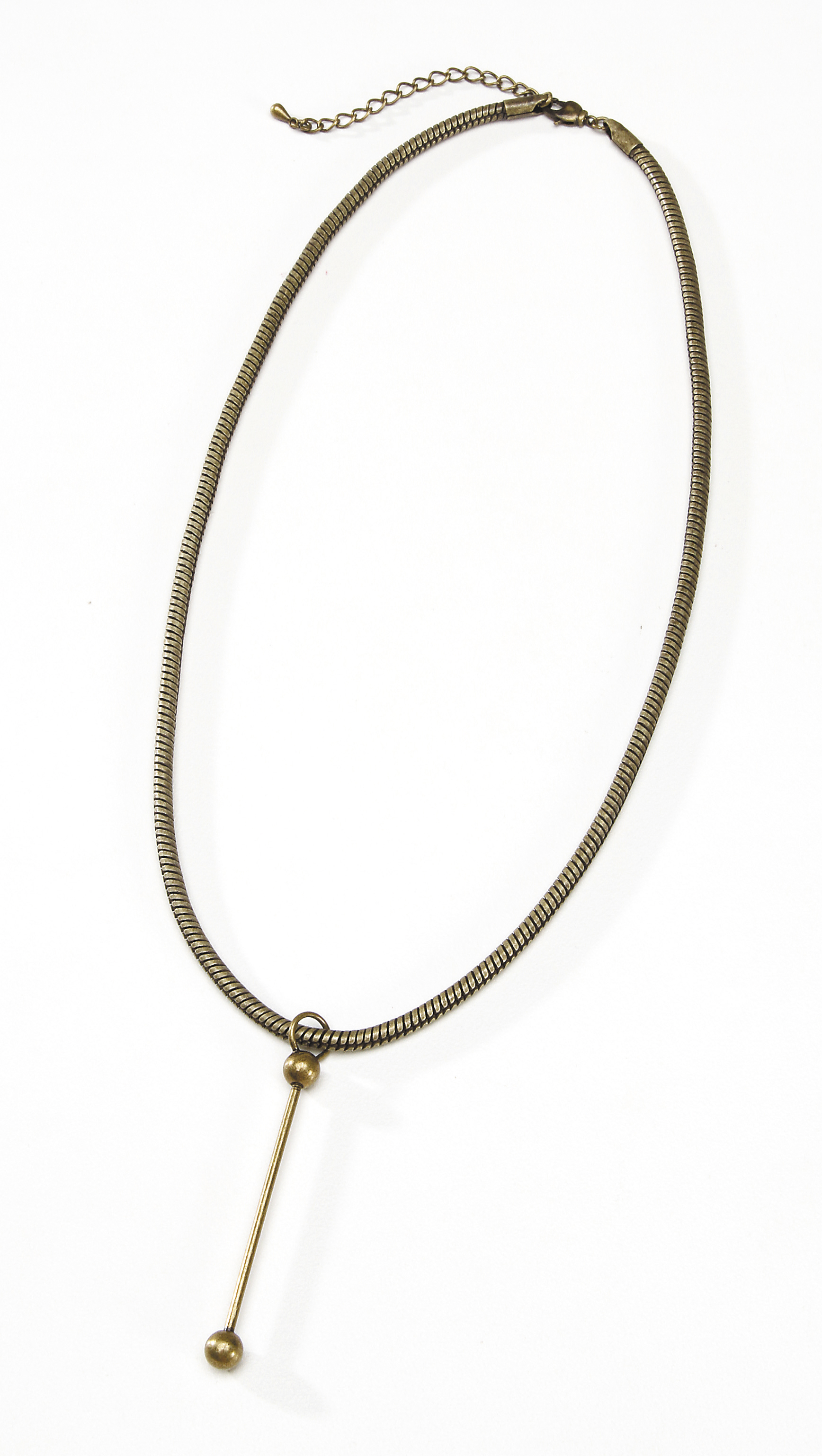 Darice Snake Chain Necklace Bronze