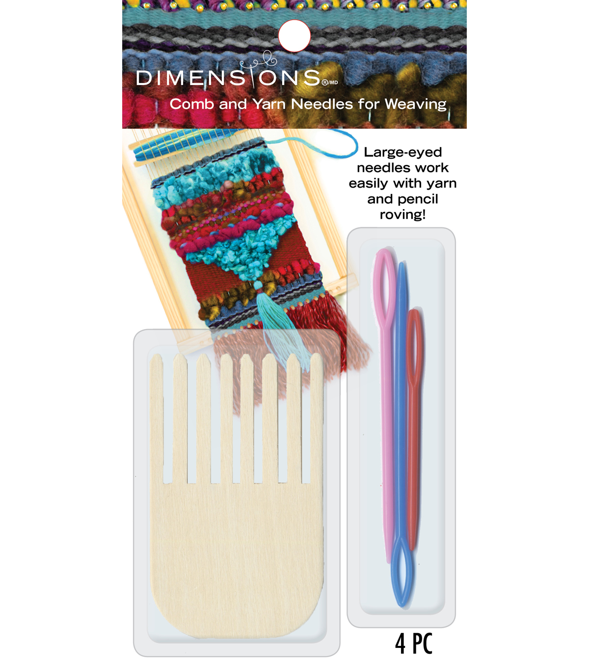 Comb And Plastic Yarn Needles