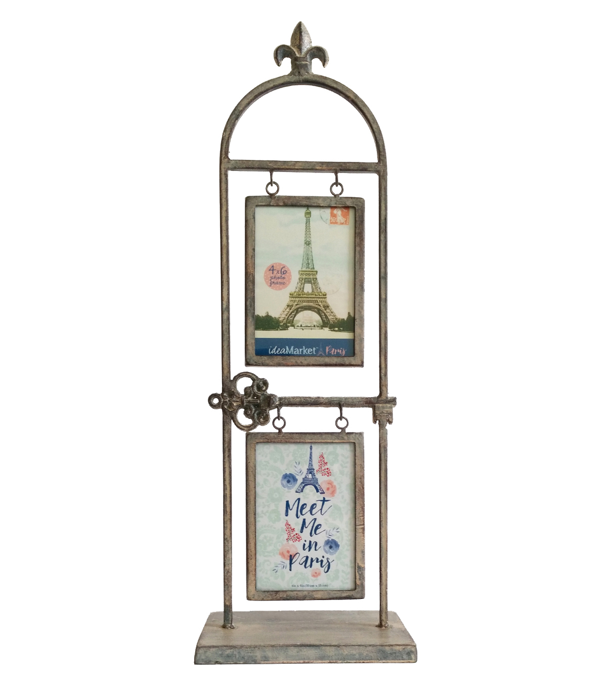 Idea Market Paris Metal & Glass Photo Frame