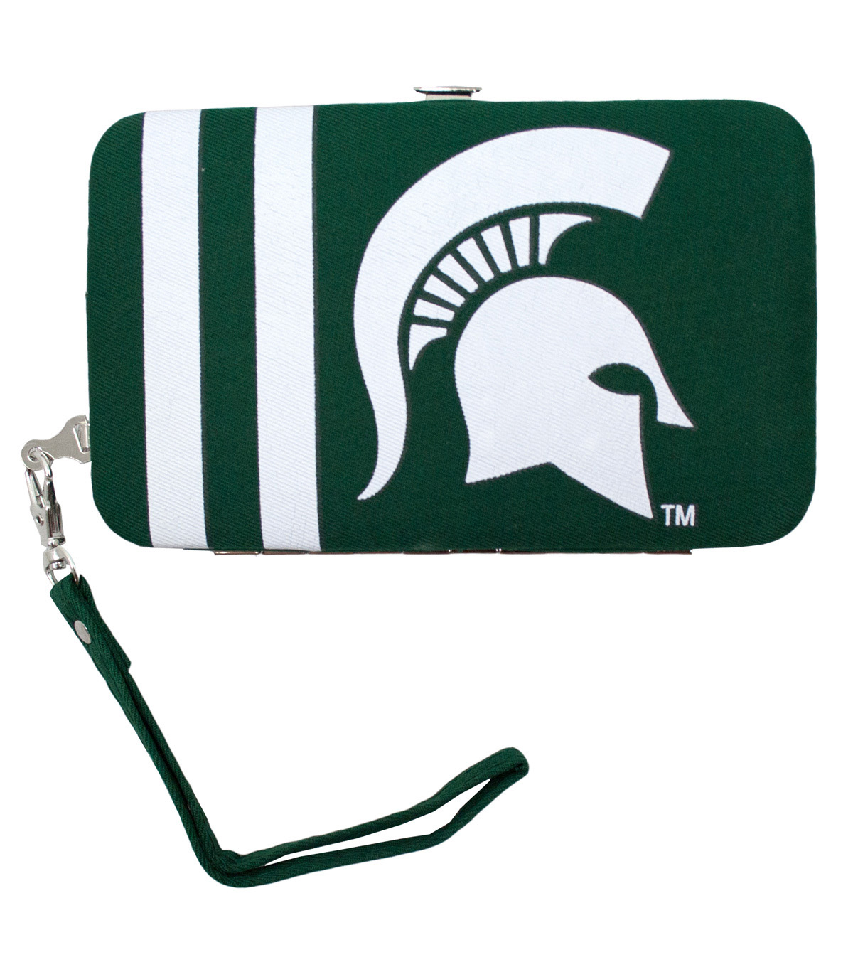 Michigan State University Spartans Shell Wristlet