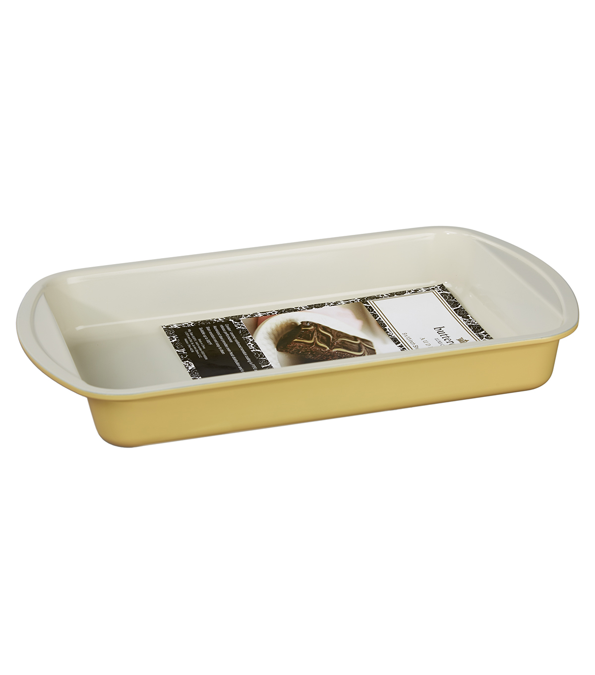 Buttercream™ Audrey Collection Ceramic Metal 9x12\u0022 Sheet Cake Pan