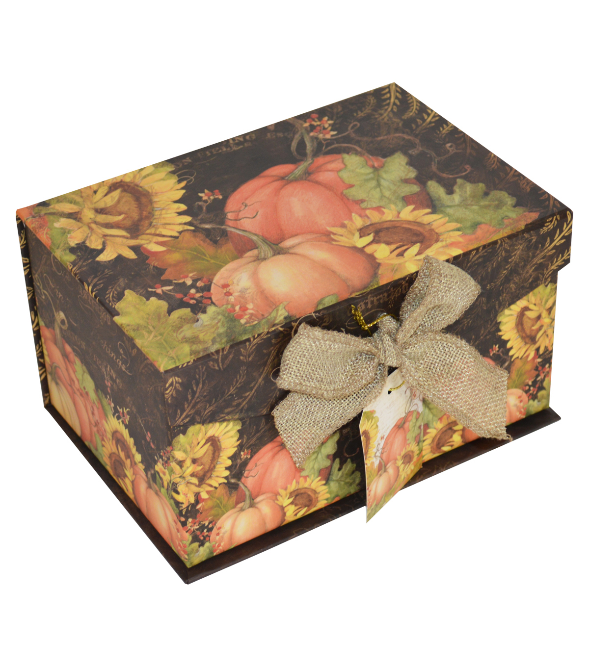 Organizing Essentials™ Small Fliptop Box-Botanical Harvest