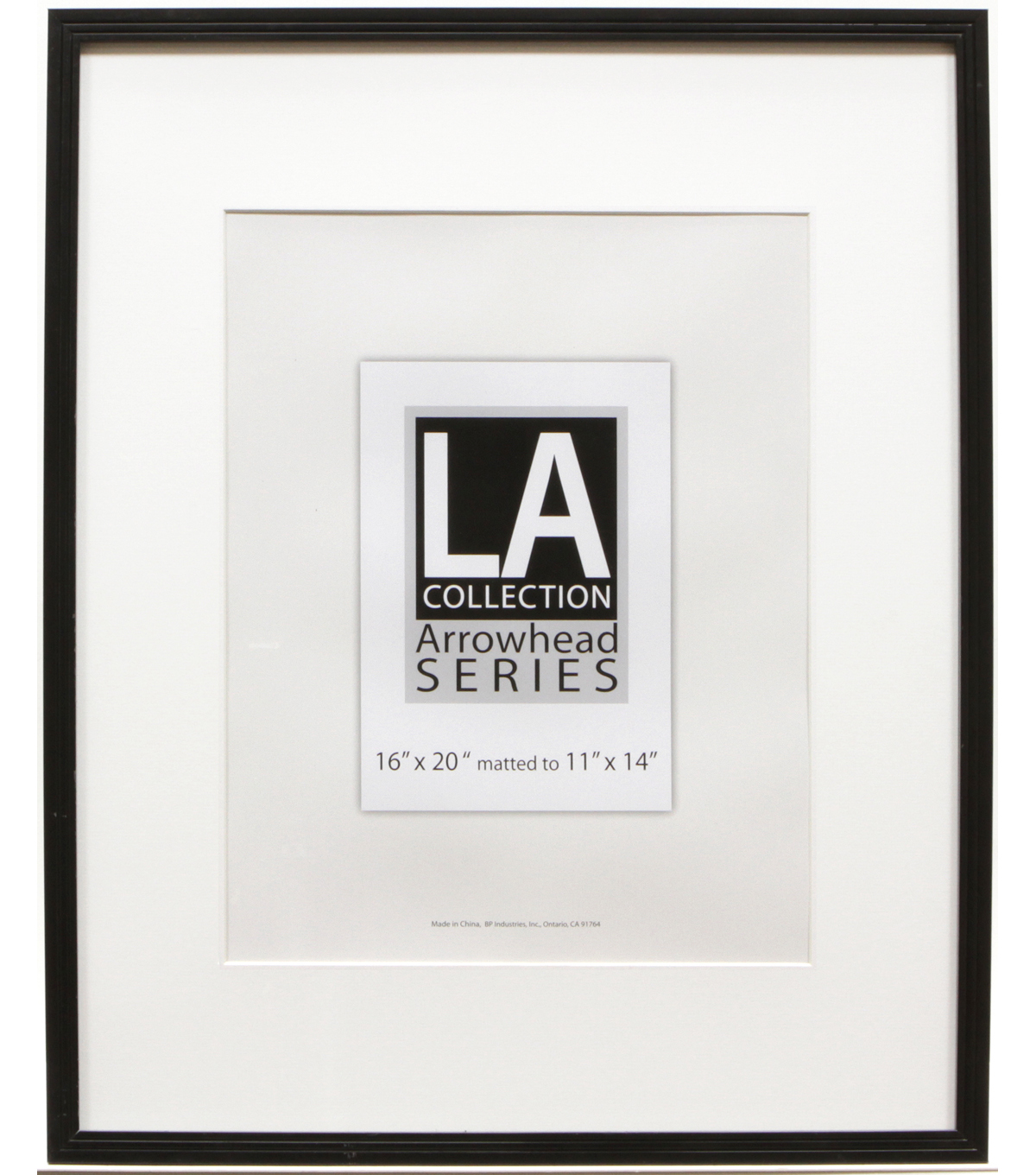 LA Collection PVC Wall Frame 16X20-Black