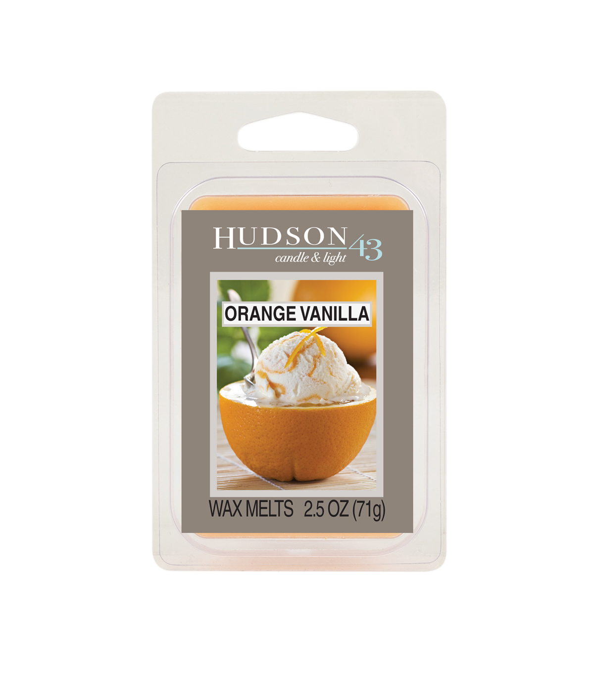 Hudson 43™ Candle & Light Collection Wax Melt-Orange Vanilla