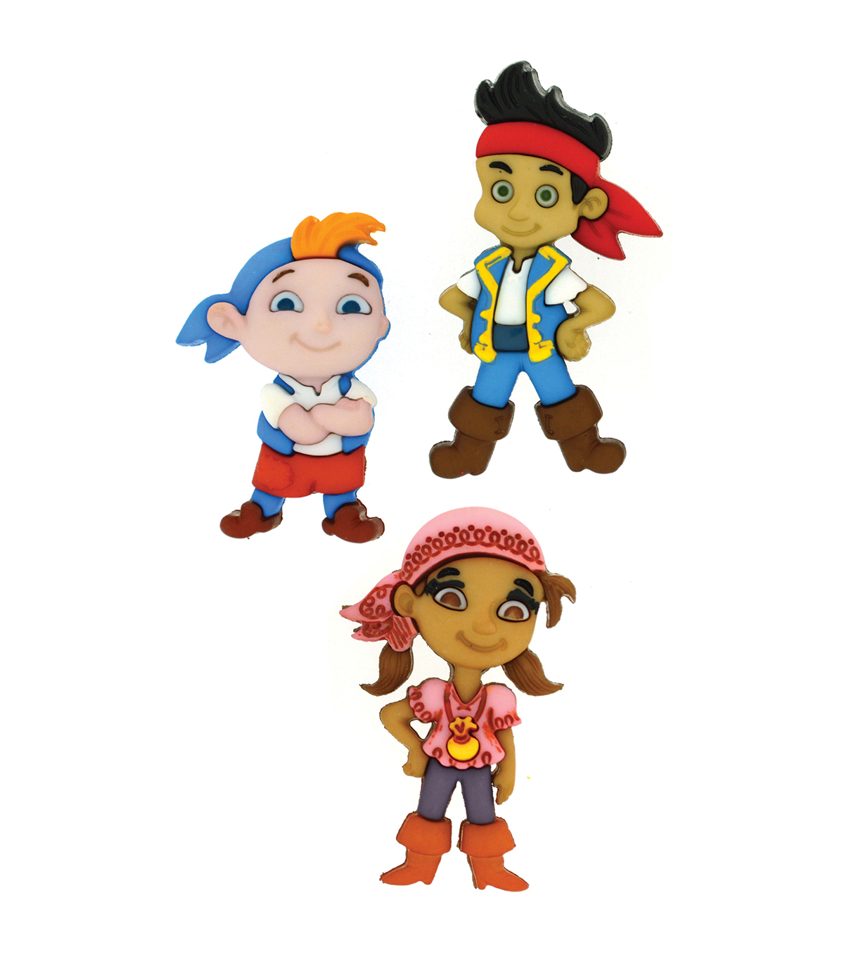 Dress It Up Licensed Embellishments-Jake and the Never Land Pirates
