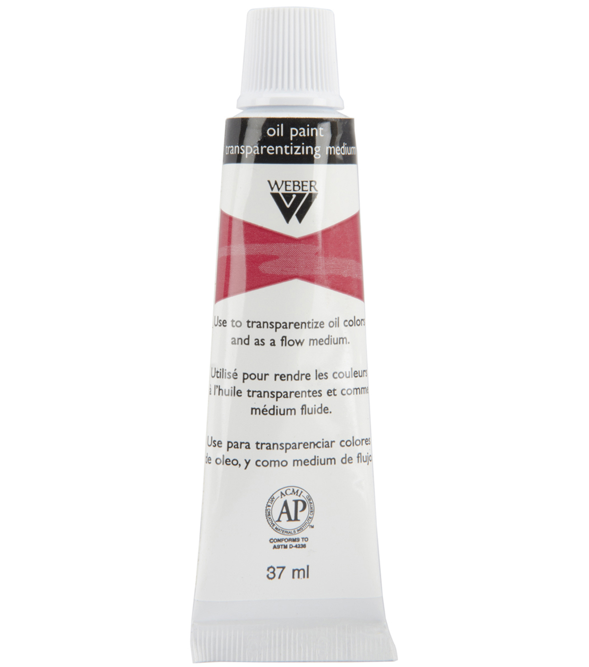 Wwber Oil Painting Transparentizing Medium-37ml