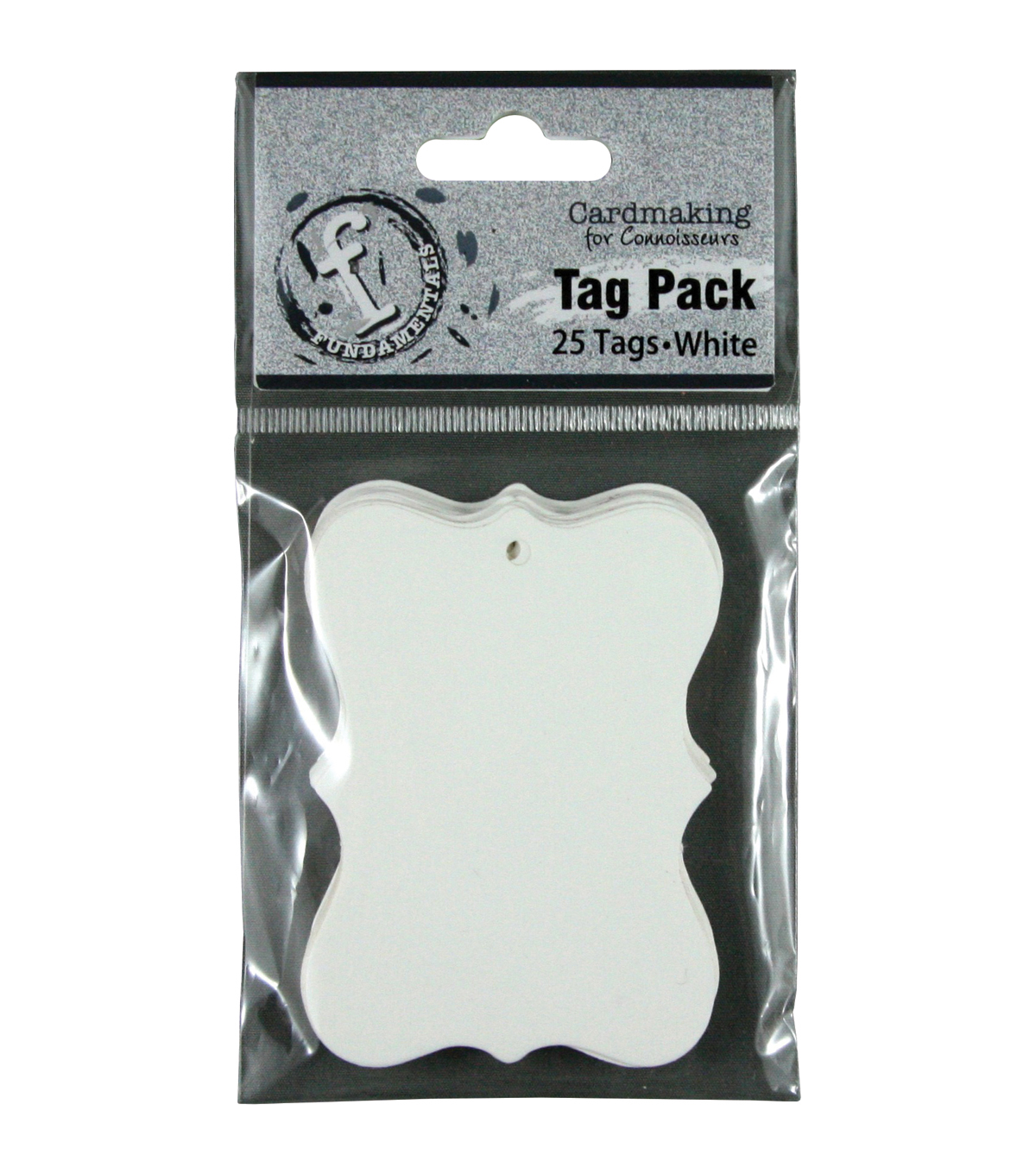 Ruby Rock-It Fundamentals Scallop Tags Small