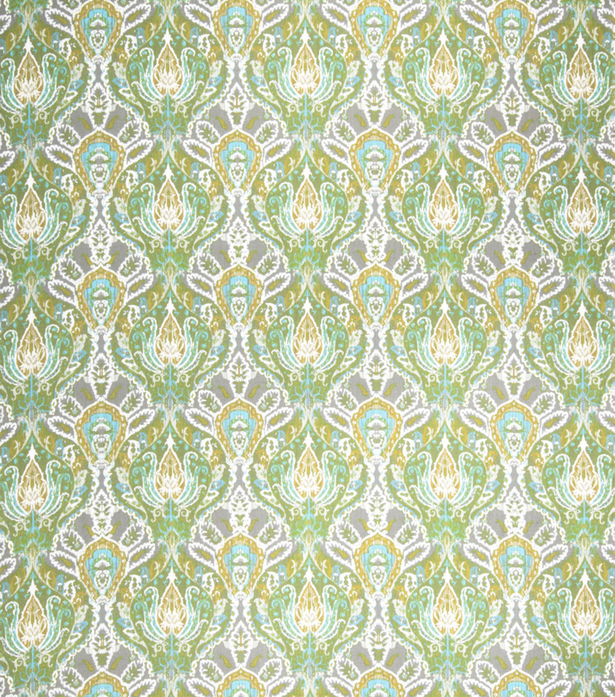"Home Decor 8""x8"" Fabric Swatch-Print Fabric Eaton Square Cartwheel Lime"