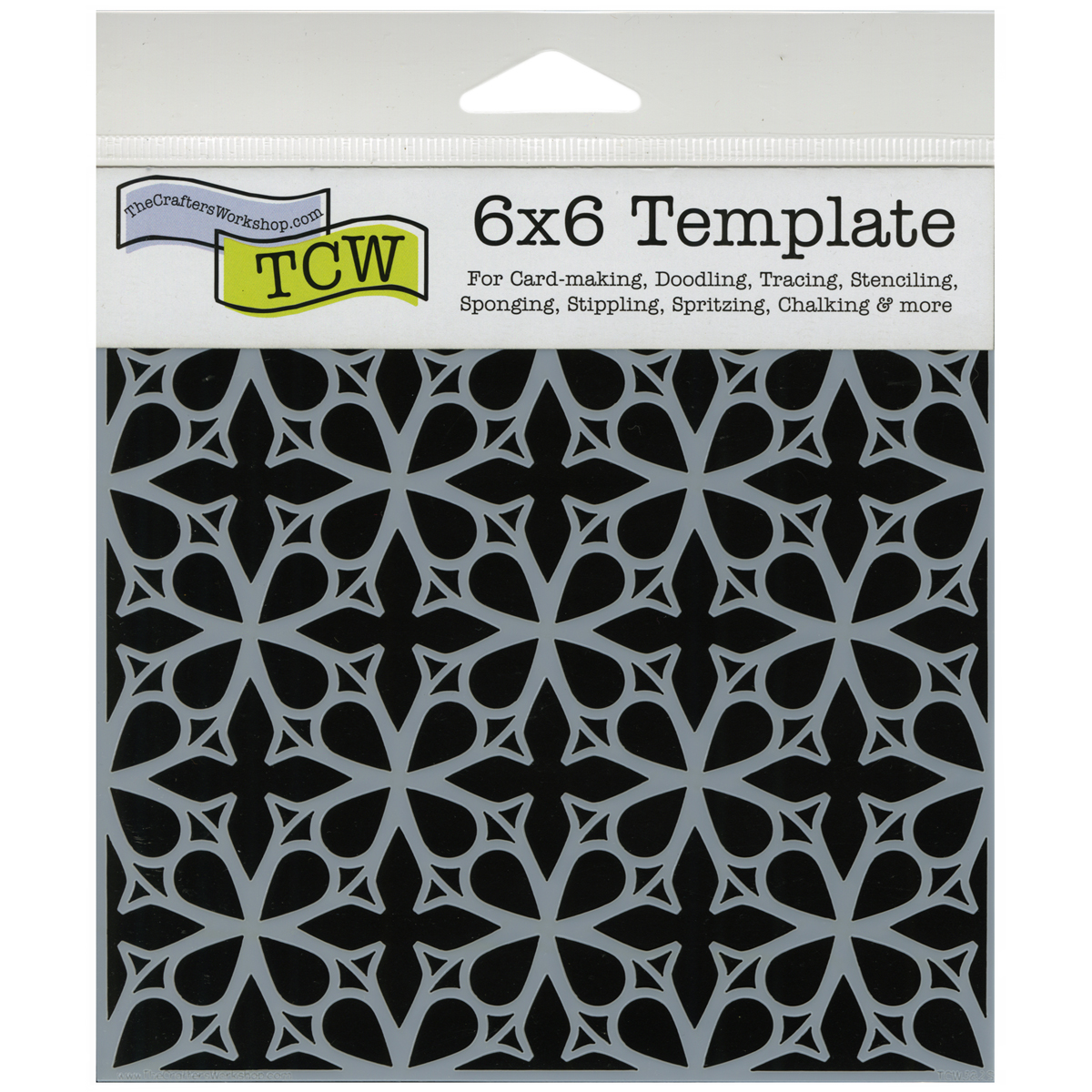 Crafter\u0027s Workshop Templates Garden Gate 6\u0022 x 6\u0022