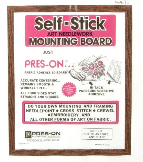 Pres-On Mounting Board-11\u0022x14\u0022