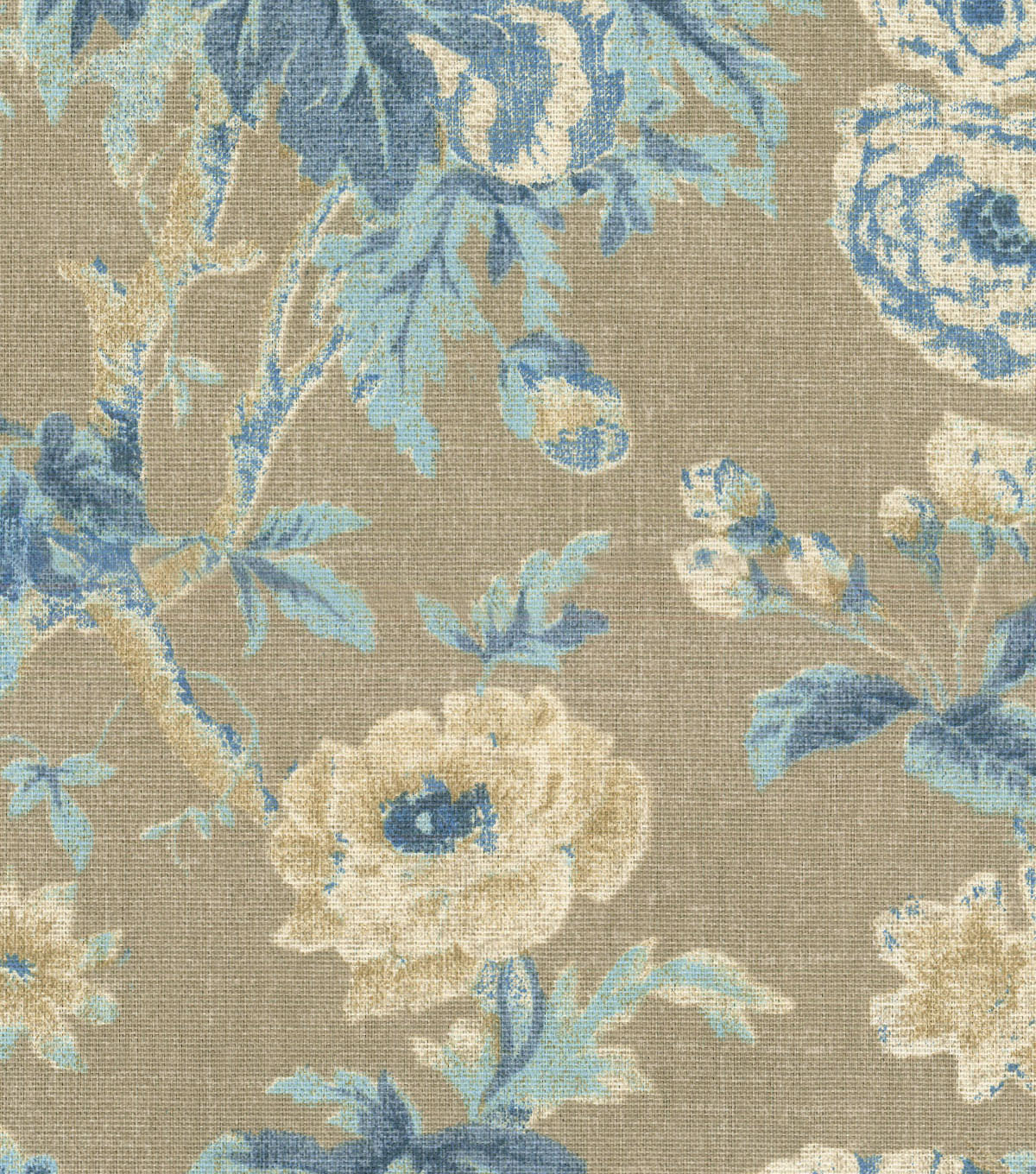 Home Essentials™ Print Fabric 45\u0027\u0027-Bluebell Among the Roses